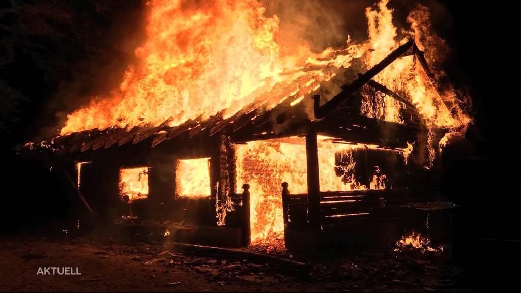 Schon wieder Brandstiftung in Merenschwand?