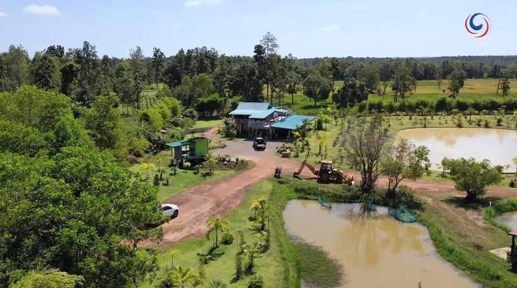 Auf dieser pittoresken Farm soll Töchterchen Yaya aufwachsen können. «Und nicht in Bangkok», sagt Thomas Luescher.