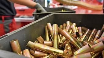 Produktionsfabrik in Schieflage: Sollte die Munition nicht geliefert werden können, würde der Bund kein Geld verlieren.