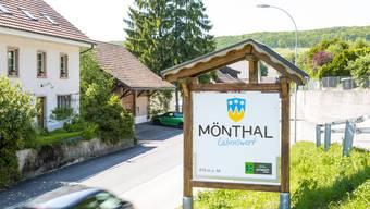 Die Gemeinde Mönthal rechnet mit weniger Steuerertrag.
