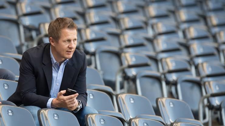 YB-Sportchef Christoph Spycher hat seinen Vertrag eben bis 2022 verlängert.