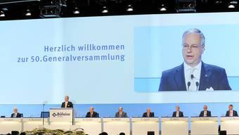 Präsident Andreas Burckhardt: «Bâloise ist eng mit der Region, ihrem Geist und ihren Werten verbunden.» Martin Töngi