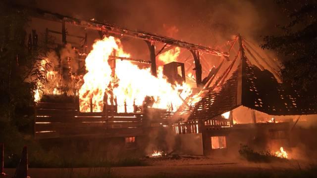 Bauernhaus in Huttwil komplett abgebrannt