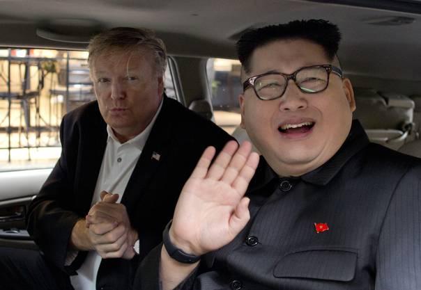 Sie hielten das Treffen der beiden Staatsoberhäupter vorgängig ab.