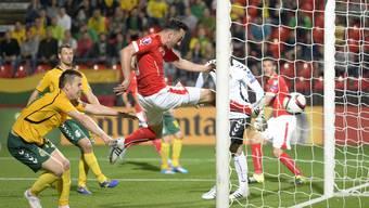 Bilder vom Spiel Litauen - Schweiz