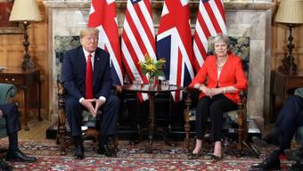Trumps Besuch in GB