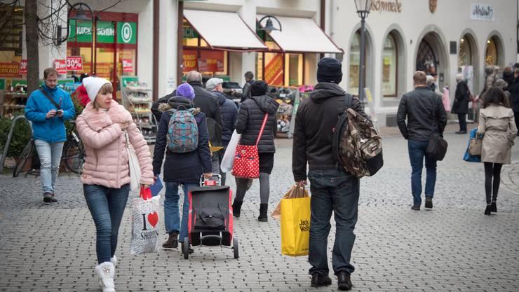 Erst ab dem 15. Juni wieder möglich: Zum Einkaufen nach Konstanz fahren.