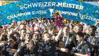 Der FC Basel kann am Sonntag die sechste Meisterschaft in Folge feiern.