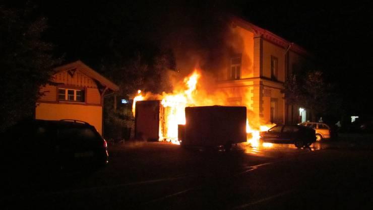 Das letzte Ereignis, das die Regio Feuerwehr über Twitter meldete.