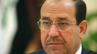 Iraks Premier Nuri Al-Malliki (Archiv)
