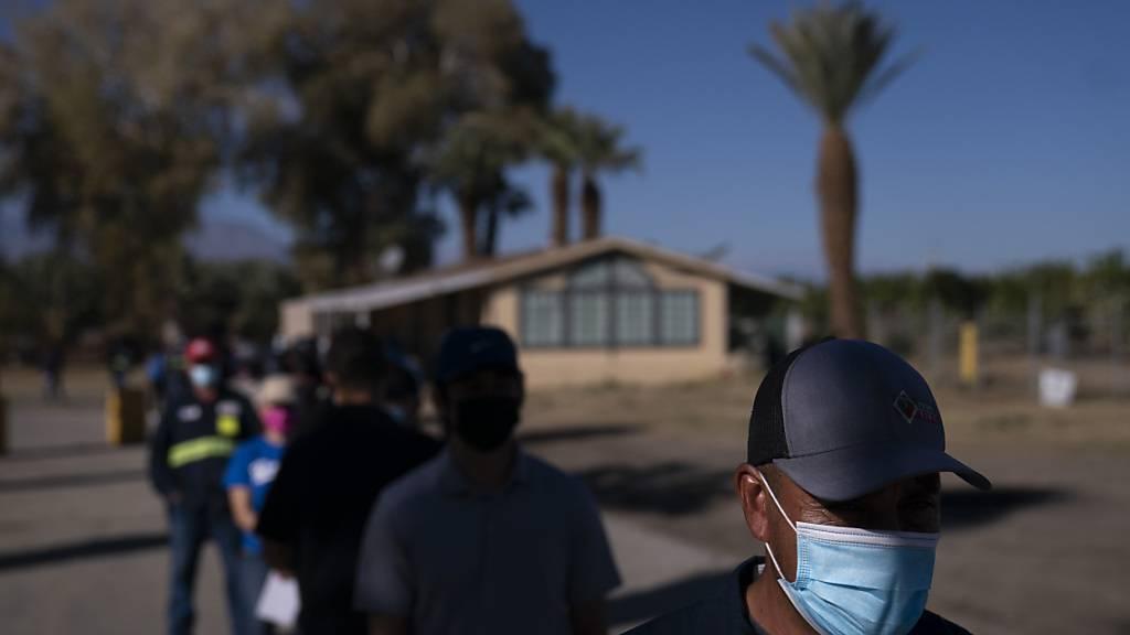 Weiter weit über 3000 Corona-Todesfälle in den USA binnen 24 Stunden