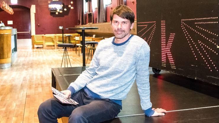 «Ich konnte noch nicht alles verwirklichen», sagt Sandro Bernasconi. Er leitet auch in Zukunft das Musikbüro der Kaserne Basel.