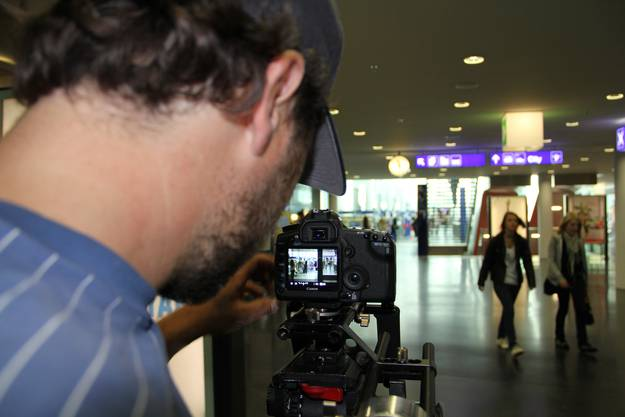 Dreharbeiten zum Aarauer Imagefilm
