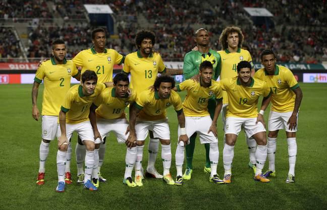 Gastgeber Brasilien führt das grosse Teilnehmerfeld aus Südamerika an.