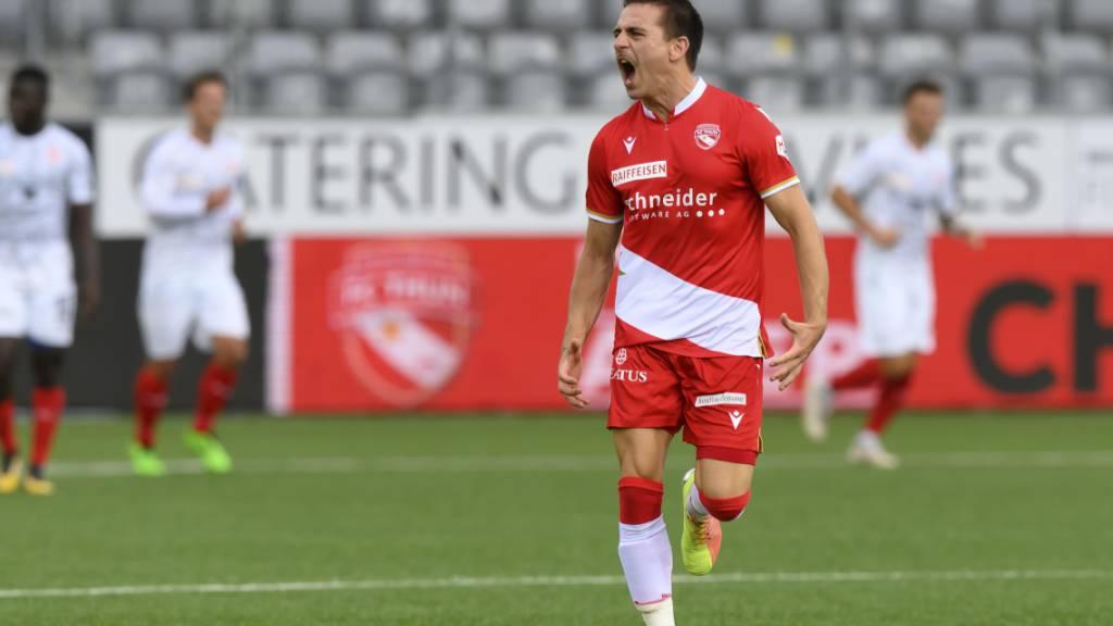 Thun steigt ab - 4:3 im Barrage-Rückspiel gegen Vaduz zu wenig