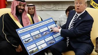 Die Kontakte von US-Präsident Donald Trump nach Saudi-Arabien sollen näher beleuchtet werden. (Archivbild)