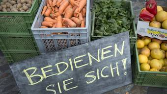 Zürich zeigt sich beim sparsamen Umgang mit Essen kreativ: Gemüse, das nicht verkauft wird, gibt man weiter oder man pflegt gemeinsam einen Garten.