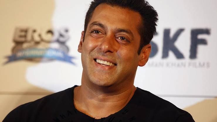 Bollywood-Star Salman Khan ist aus Mangel an Beweisen vom Vorwurf der Wilderei freigesprochen worden. (Archivbild)