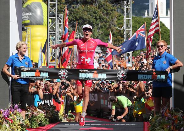 Sie verschob einmal mehr die Grenzen: Daniela Ryf gewann zum vierten Mal die Ironman-WM auf Hawaii.