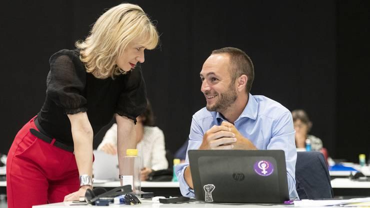 Priska Seiler Graf ist überzeugt, dass sie und Mathias Reynard das richtige Team gewesen wären für die Spitze der SP Schweiz.