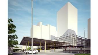 Die Eigentümer des Liebrüti-Zentrums wollen auf dem Zentrum einen Wohnturm bauen.