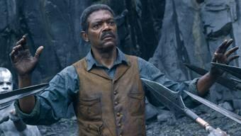 """Darauf wird er sich freuen: Samuel L. Jackson in """"The Legend of Tarzan"""". Der Schauspieler sieht sich seine eigenen Filme gerne an. (Pressebild)"""