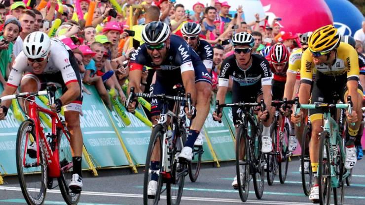 Matteo Pelucchi erneut am schnellsten