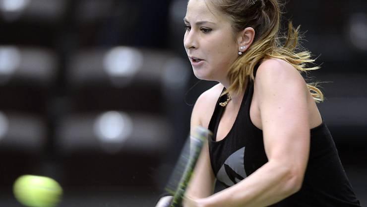 Bestreitet am Samstag für das Schweizer Fedcup-Team die Auftaktpartie gegen Andrea Petkovic: Belinda Bencic