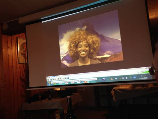 So lautet der Titel von Yvonne Brändles Kurzfilm, der auch an diesem Abend auf der Leinwand präsentiert wird.