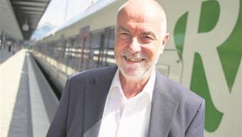Hans-Jürg Spillmanns Hauptaufgabe ist es, beim Bund die Wichtigkeit des Basler S-Bahnprojekts deutlich zu machen.