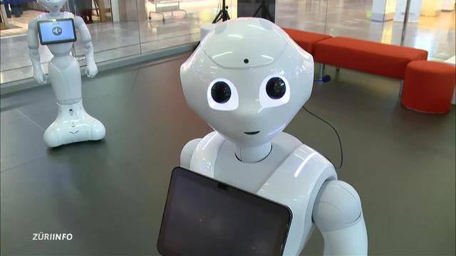 Roboter-Butler    Schnitzelbänke