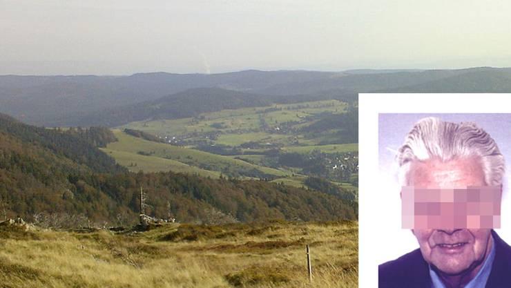 Der als vermisst gemeldete Senior hat sich bei der Heimfahrt aus dem Schwarzwald verirrt.