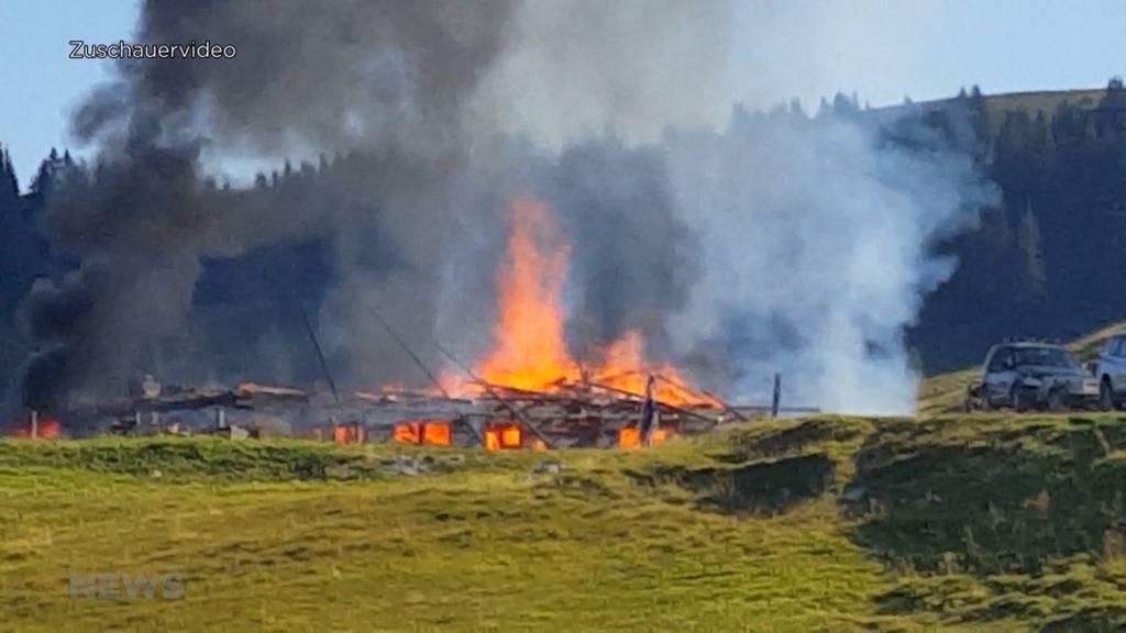 Nach Flammeninferno im Diemtigtal: Alp-Restaurant Seeberg ist wieder offen