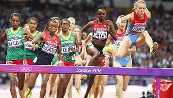 Julia Saripowa lief wie in Londen der Konkurrenz auf und davon.