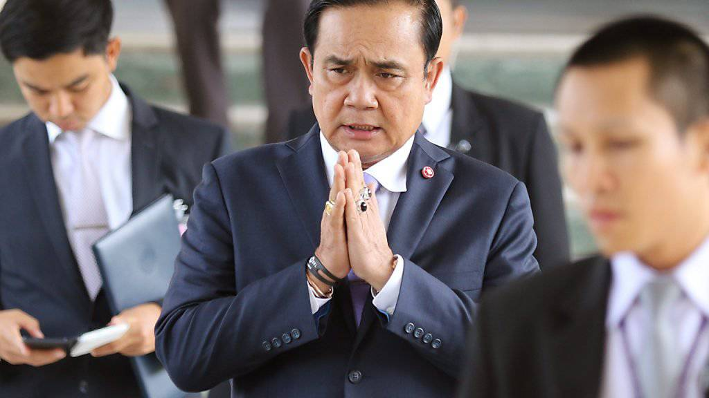 Thailands Regierungschef Prayut Chan-o-cha (Archiv)