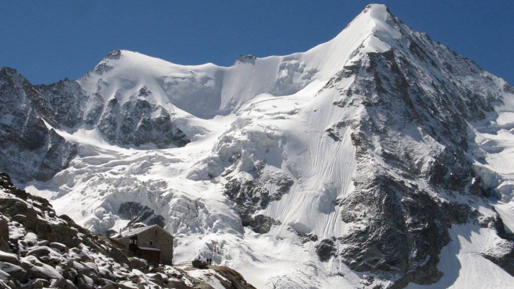 Drei deutsche Alpinisten war auf dem Aufstieg auf das Obergabelhorn (4064 Meter über Meer), als sich das Unglück ereignete. (Archivbild)
