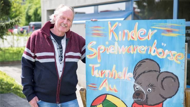 Bruno Schuler hat die Kinderspielwaren-Börse Brugg 20 Jahre lang unentgeltlich und mit viel Herzblut organisiert. Barbara Scherer