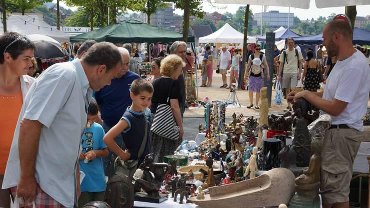 Dieses Jahr wird es keinen Flohmarkt Baden mehr geben. (Archivbild)