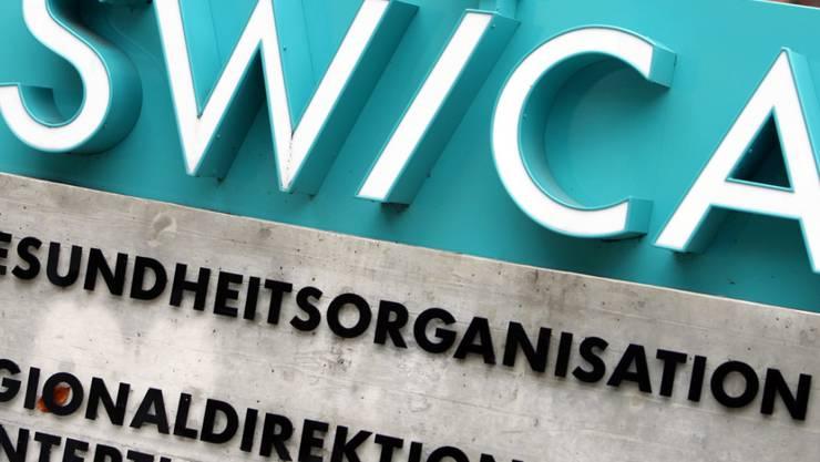 Die Krankenkassengruppe Swica hat 2018 wegen Einbruch am Aktienmarkt weniger Gewinn gemacht. (Archiv)