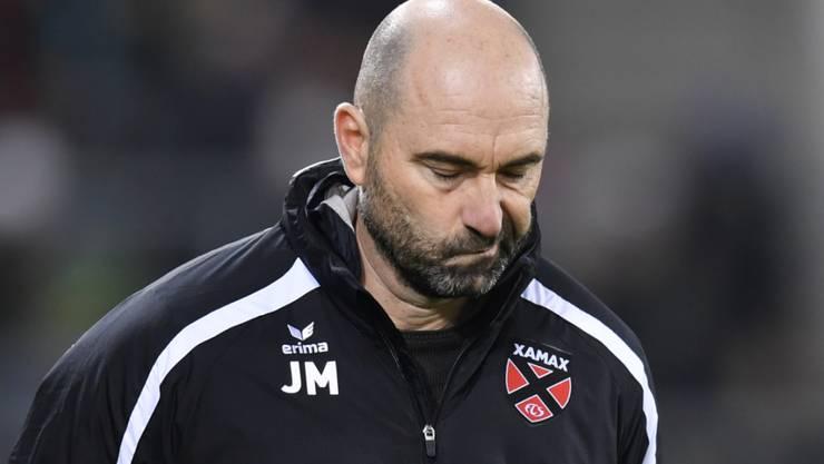 Xamax' Joël Magnin sollte im Trainerduell mit Namensvetter Ludovic Magnin unbedingt Punkte einfahren