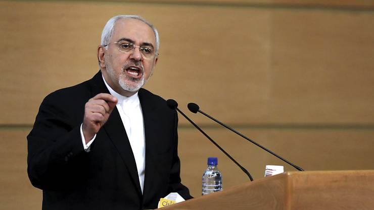 Für den iranischen Aussenminister Sarif ist das Atomabkommen nicht verhandelbar. (Archiv)