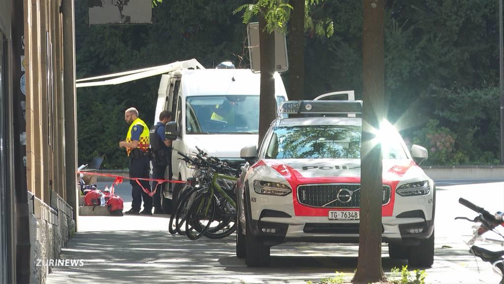 Messerstecher in Frauenfeld hält Polizei stundenlang auf Trab