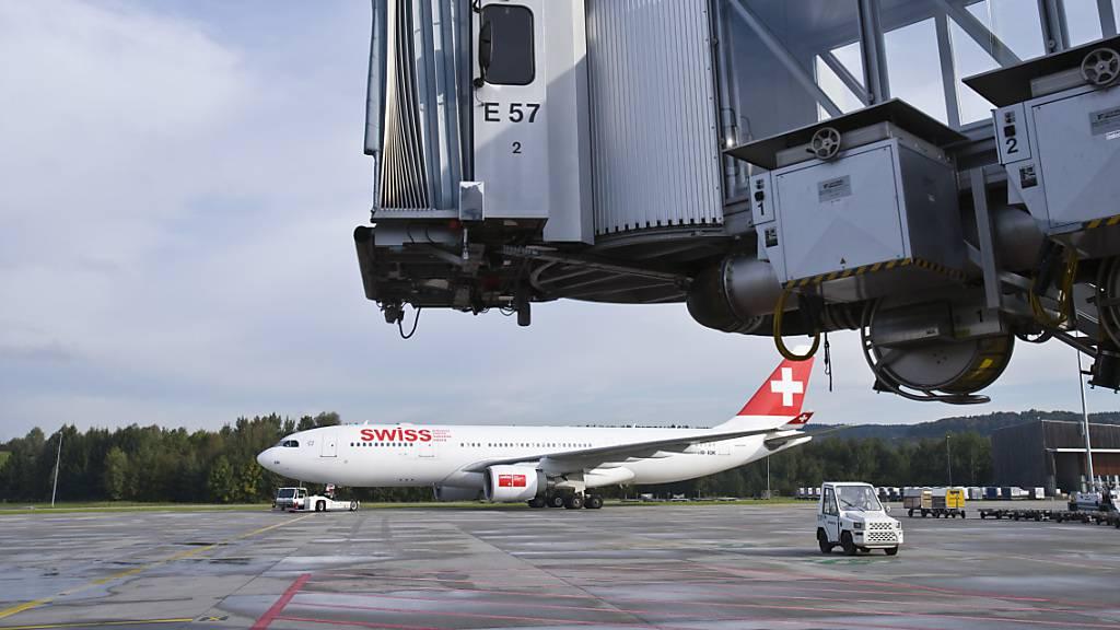 Swiss-Maschine kehrt wegen sieben kaputten Toiletten um