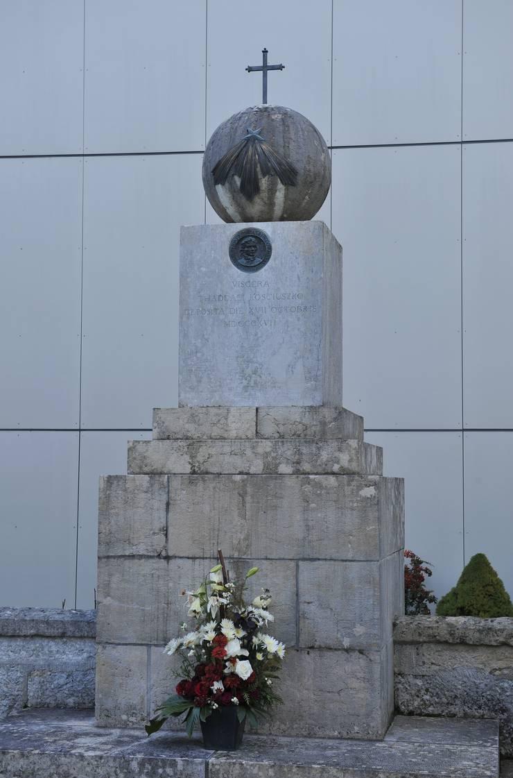 Die Grabstätte von Tadeusz Kosciuszko in Zuchwil