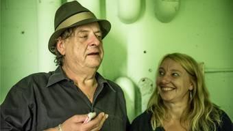Endo Anaconda und Gisela Roth sind sich einig: «Kultur ist die Seele einer Stadt – und das KiFF der Ort, wo sich junge Leute daheim fühlen.» Fredy Villiger/KiFF