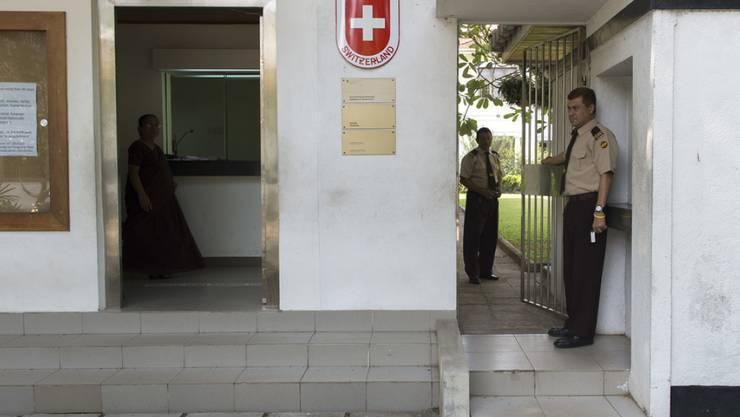 Zwei Polizisten des Fedpol sollen die Botschaft in Colombo bei der polizeilichen Arbeit unterstützen. (Archivbild)