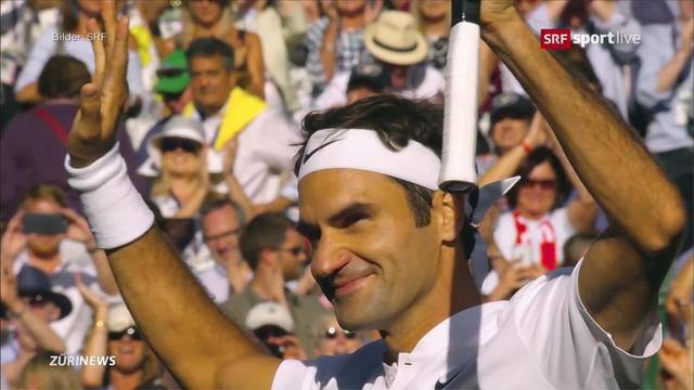 Achter Wimbledon-Titel scheint greifbar nah
