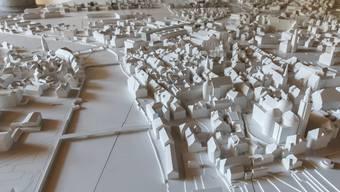 Modell der Stadt Solothurn.