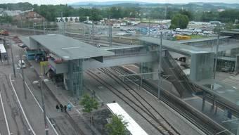 Am Bahnhof Wankdorf kam es zu einem Personenunfall. (Archiv)