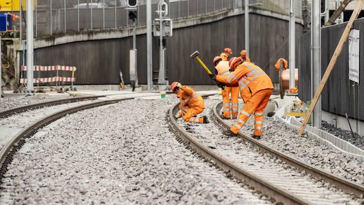 Die Bahninfrastruktur ist gemäss Bundesrat in einem guten Zustand.